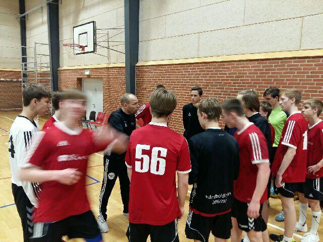 Drenge håndbold FM