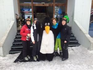 Med pingvin i Østrig
