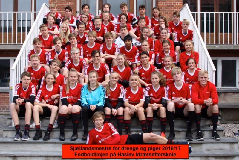 fodboldholdet sjællandsmestre