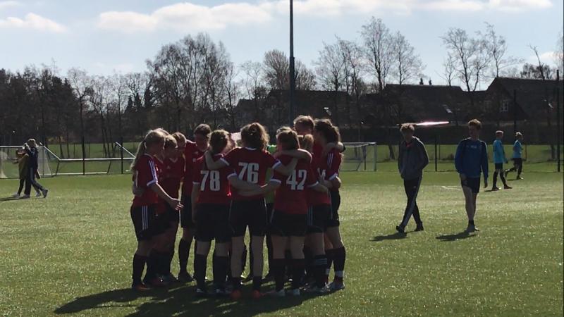fodboldpigerne Sjællandsmestre